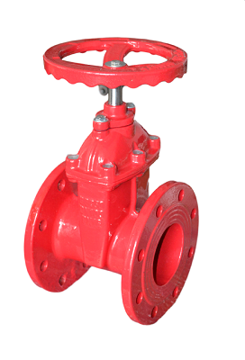 Gate Valve with Silica gel Sealing